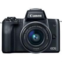 Câmera Canon Mirrorless EOS M50 com Objetiva EF-M 15-45mm F/3.5-6.3 IS STM -