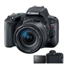 Câmera Canon SL2 EOS Rebel Tela Giratória e Lente 18-55mm -