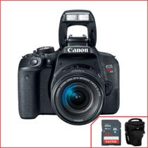 Camera Canon T7i Com 18-55mm F/4-5.6 Is Stm