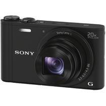 Câmera compacta Sony Cyber-shot DSC-WX350 PRETO com zoom óptico de 20x -
