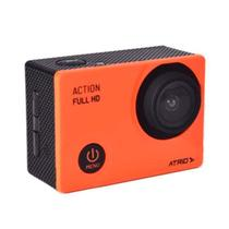 Câmera De Açâo Action Atrio Full HD 1080P Tela LCD 2Pol 12Mp 30 Fps 450 mAh -  DC190 - Multilaser