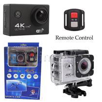 Câmera De Ação Action Cam 4k Sports A Prova D'agua Com Controle - Melhoresofertas