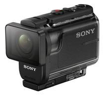 Camera de Ação Action Cam HDR-AS50R com Controle Remoto Sony Preta -