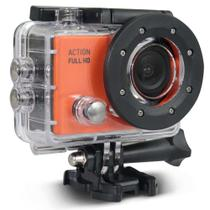 Camera De Acao Action Full Hd 1080P Tela Lcd 2Pol 12Mp 30 Fps 450 Mah - DC190 - Atrio -