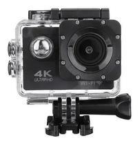 Câmera De Ação Action Pro Sport 4k Wifi Mergulho Cor Preto -