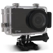 """Câmera de Ação Atrio Action 4K DC191 Tela LCD 2"""" Esportiva Wi-Fi USB MicroSD À Prova d'Água -"""