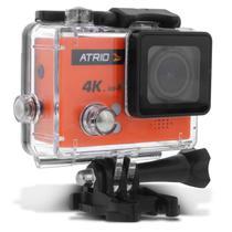 Câmera de Ação Atrio FullSport Cam 4K 30fps Tela LCD USB SD Wifi Controle Remoto À Prova DÁgua -