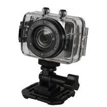 Câmera de Ação e Aventura Digital FULL-HD 1080p 4x Zoom 12.1MP Sup Micro SD Até 32GB Controle Remoto Visor LCD - Vivitar