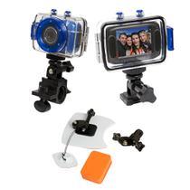 Câmera de ação HD DVR785 Vivitar + Kit p/ Surf -