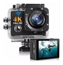 Câmera De Capacete Go Sports Pro Ful Hd 1080p 4k Wifi Top -