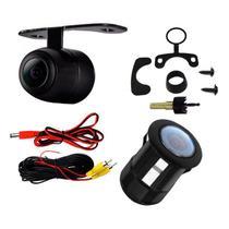 Câmera De Ré 2 em 1 Estacionamento Visão Noturna/colorida/resistente a água Hyundai HB20 - Uberparts