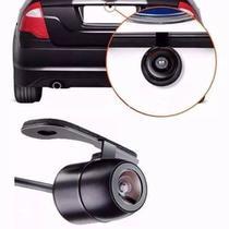 Câmera De Ré estacionamento colorida Grade De Distância Suporte Borboleta E Visão Noturna Universal - Oliveirashop