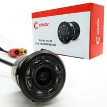 Câmera de Ré Infravermelho Mini Broca 18.5m Cinoy -