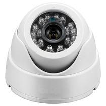 Câmera de segurança ccd 24 leds branca 2688 - Powerxl