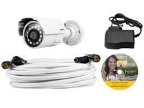 Câmera de Segurança CFTV VTV Externa Analógico - Infravermelho Visão Noturna AAHD KIT