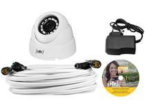 Câmera de Segurança CFTV VTV Interna Analógico - Infravermelho Visão Noturna AAHD KIT
