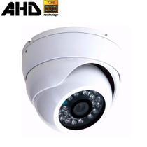 Câmera de Segurança Dome Blindada em Metal AHD 720P 1.3 Megapixel com 24 leds Infravermelho - Jortan