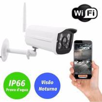Camera De Segurança Ip Wifi Externa Prova Dagua Sem Fio Hd 2 antenas app Yoosee - Yeshi