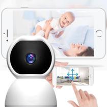 Câmera de segurança PTZ wi-fi inteligente interna Baba eletrônica infravermelho - Lotus - Rts