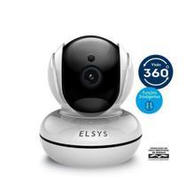 Câmera de segurança Wi-Fi rotacional inteligente FULL HD - Elsys -
