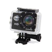 "Câmera Digital Amvox ADC 800 HD Tela 2"" LCD SD Bateria 9000mAh Case a prova d'água -"