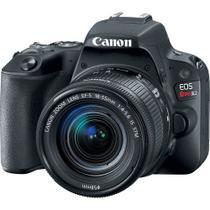 Câmera Digital Canon Dslr Eos Rebel SL2 kit Lente Ef-s 18-55mm Is Stm -