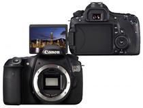 Câmera Digital Canon EOS 60D 18MP  - LCD Penta Prisma / Detector de Face / Cartão 2GB