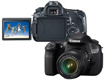 Câmera Digital Canon EOS 60D 18MP - Lente EF-S 18-55mm f Filma em Full HD