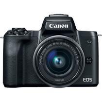 Câmera Digital Canon EOS M50 Mirrorless com Lente 15-45mm Kit -