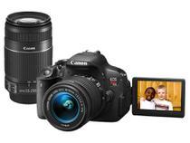 "Câmera Digital Canon EOS Rebel T5i Premium Kit  - 18MP Profissional Visor 3"" Filma Full HD"