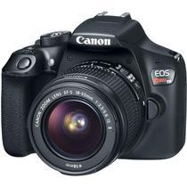 """Câmera Digital Canon EOS Rebel T6 DSLR Profissional com 18 MP, 3"""", Gravação em Full HD -"""