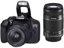 """Câmera Digital Canon EOS Rebel T6 Premium Kit - 18MP Profissional 3"""" Full HD Wi-Fi"""