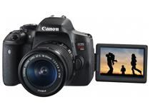 "Câmera Digital Canon EOS Rebel T6i 24.2MP  - Profissional 3"" Full HD Wi-Fi"