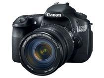 Câmera Digital Canon Profissional EOS 60D 18MP - Lente EF-S 18-200mm Filma em Full HD