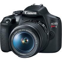 Câmera Digital Canon T7 com Lente EF-S 18-55mm -