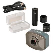 Câmera Digital Colorida 5.0 MP Software,Lente,Redução Lâmina Padrão - Opton