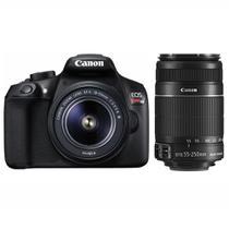 Câmera Digital DSLR Canon EOS Rebel T6 Premium Kit - Preto -