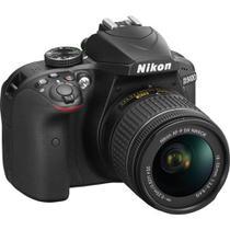 Câmera Digital Dslr D3400 Kit Com Lente De 18-55mm Vr - Nikon
