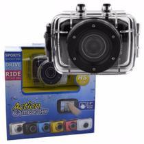 Camera Digital HD Action Camcorder A Prova D'água -