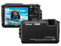 "Câmera Digital Nikon Coolpix AW110 16MP LCD 3"" - à Prova dÁgua e Choques Filma em Full HD"