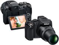Câmera Digital Nikon Coolpix P500 12.1MP LCD 3  - Zoom Óptico 36x / Filma em Full HD / Panorâmica