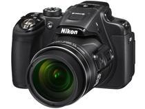 """Câmera Digital Nikon Coolpix P610 16.0MP LCD 3"""" - Zoom Óptico 60x Filma em Full HD Panorâmica Wi-Fi"""