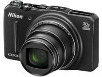 """Câmera Digital Nikon Coolpix S9700 16MP 3""""  - Zoom Óptico 30x Panorâmica Filma Full HD Wi-Fi"""
