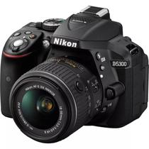 Camera Digital Nikon D5300 18-55 VR Kit 24.2MP - Preto
