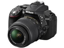 "Câmera Digital Nikon D5300 24.2MP  - LCD 3,2"" Ângulo Variável Wi-Fi Filma Full HD"