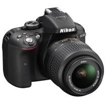 Câmera Digital Nikon D5300 Wi-Fi 24.2MP Vídeo Full HD + Kit Lente 18-55mm VR