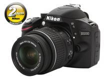 "Câmera Digital Profissional Nikon D3200 24.2MP  - Visor 3"" Grava Full HD Lente 18-55mm"