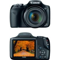 Câmera Digital Semiprofissional Canon Powershot Sx530hs 16MP 50x 2MB Grande Angular de 24mm Preto Fu - Qualityimport
