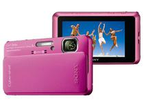 "Câmera Digital Sony Cyber-shot TX10 16.2MP LCD 3""  - Touch Panorâmica 3D à prova de água Filma Full HD"