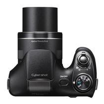 Câmera Digital Sony DSC-H300, 20.1MP, Tela 3, Zoom Óptico 35x, Filma HD, Foto Panorâmica, Cartão 8GB -